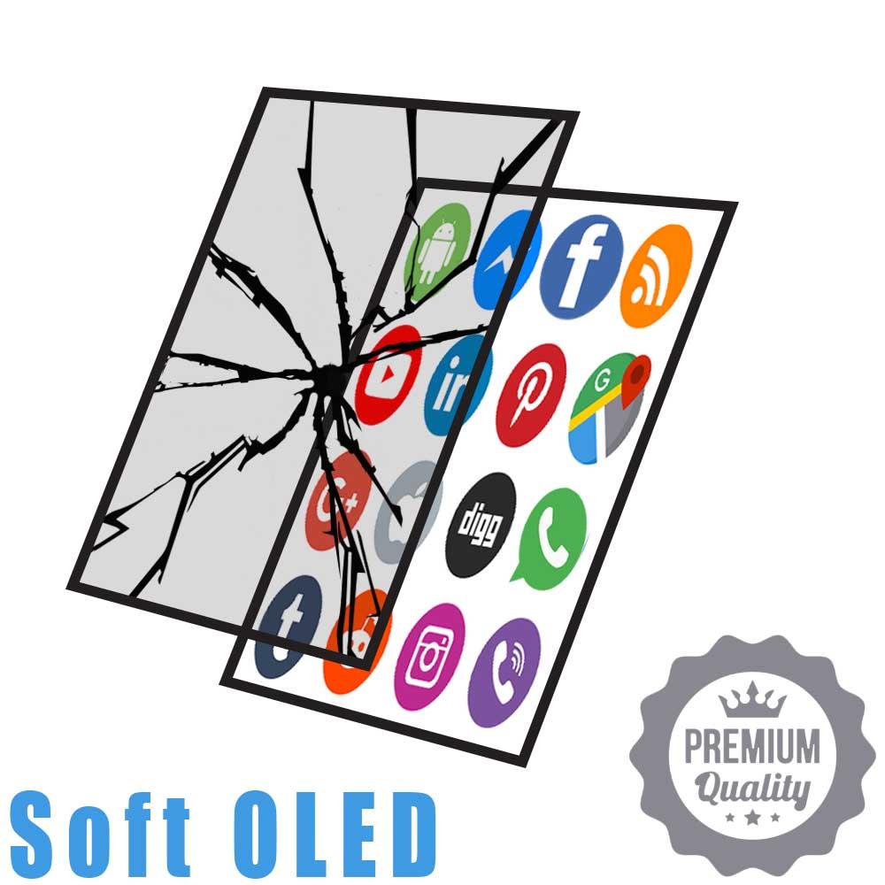 Soft OLED Only Glass Crack