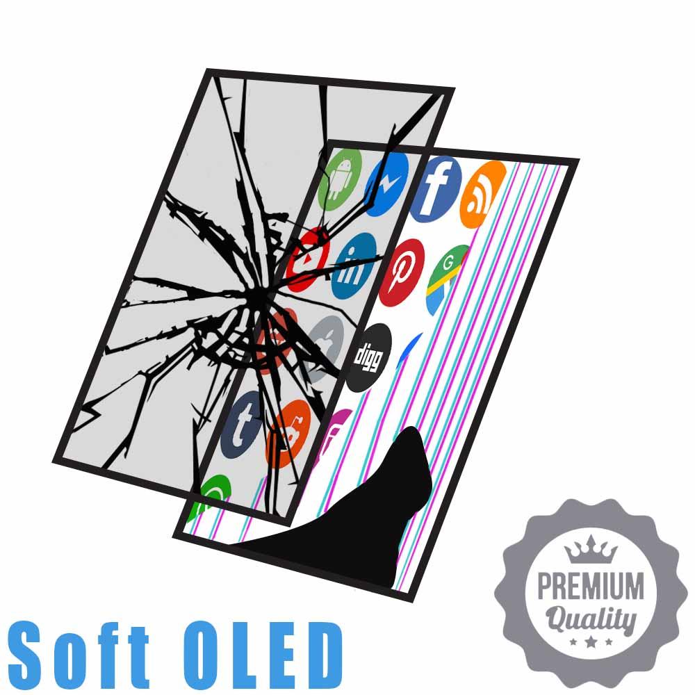 Soft OLED Glass&LCD Crack