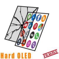 Hard OLED Glass Only Crack
