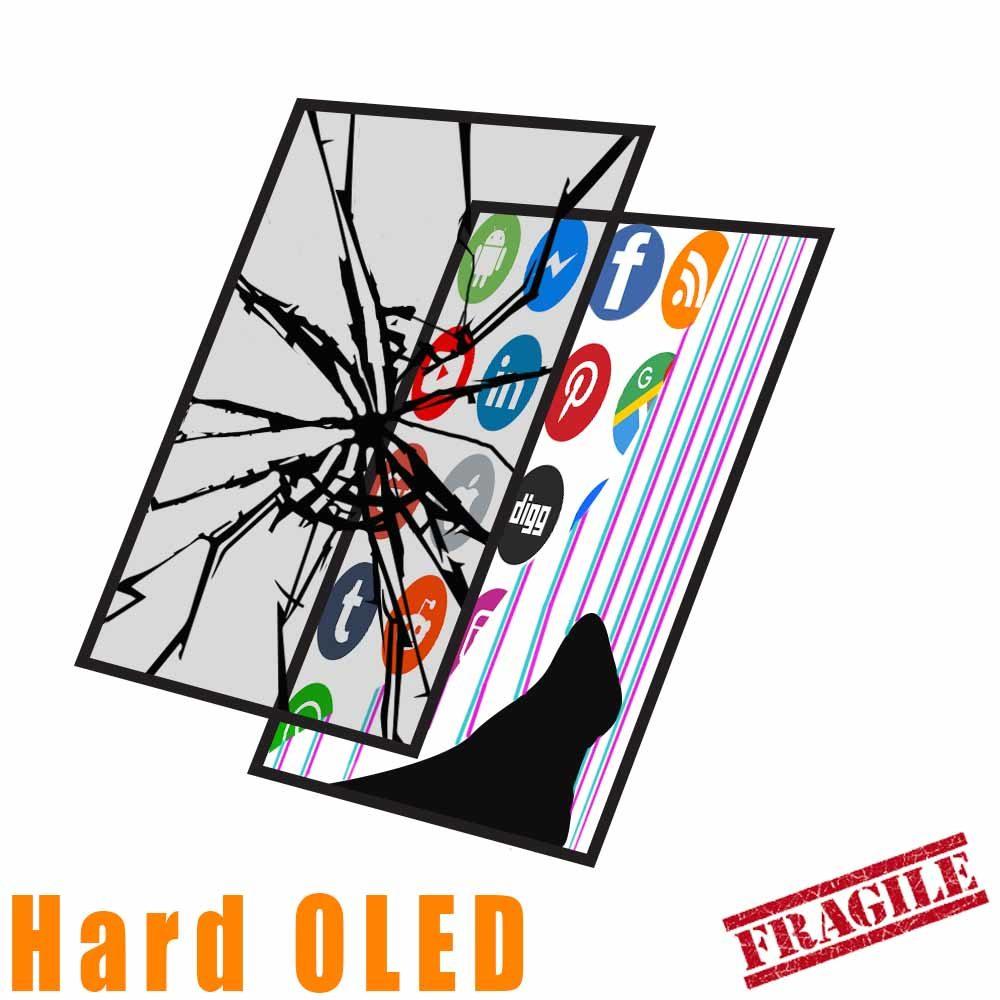 Hard OLED Glass&LCD Crack